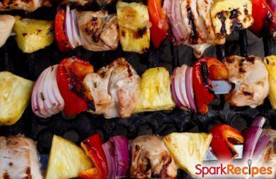 Chicken and Bacon Shish Kabobs Recipe by CELTIC_WITCH via @SparkPeople ...