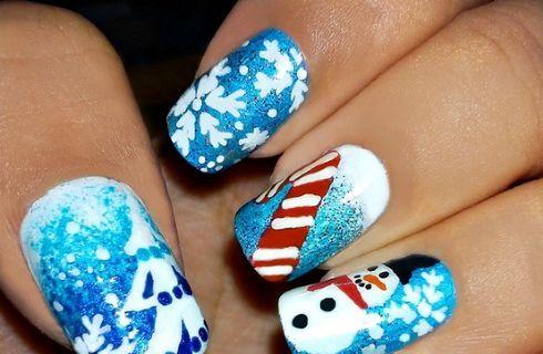 Nail Art natalizia