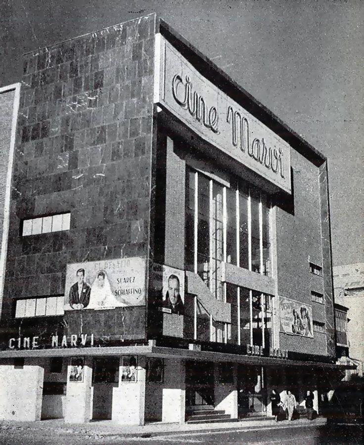 Cine Marvi (1958), calle Cartagena esquina Avenida de América http://urbancidades.files.wordpress.com/2012/03/cine-marvi_02.jpg