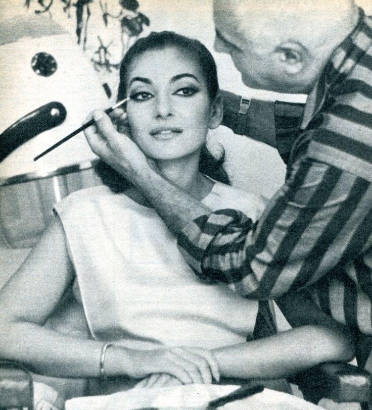 Maria Callas (1968, maquillée par Alberto de Rossi)