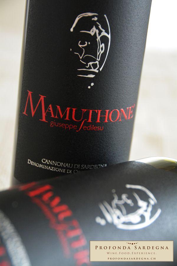 Cannonau di Sardegna - Mamuthone - Giuseppe Sedilesu. www.profondasardegna.ch