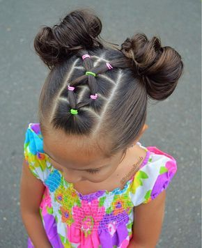 Summer hair do and even cuter on a summer splash day
