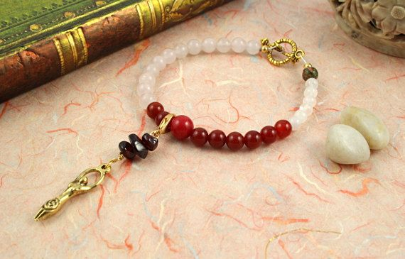 Moon Cycle Tracking Bracelet  Pick your charm cycle by veddma