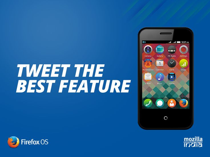 Tweet the best feature of Cloud Fx - India's first #FirefoxOS here - http://bit.ly/--sdintex Lucky winners stand a chance to win! Hurry! You might just get lucky!