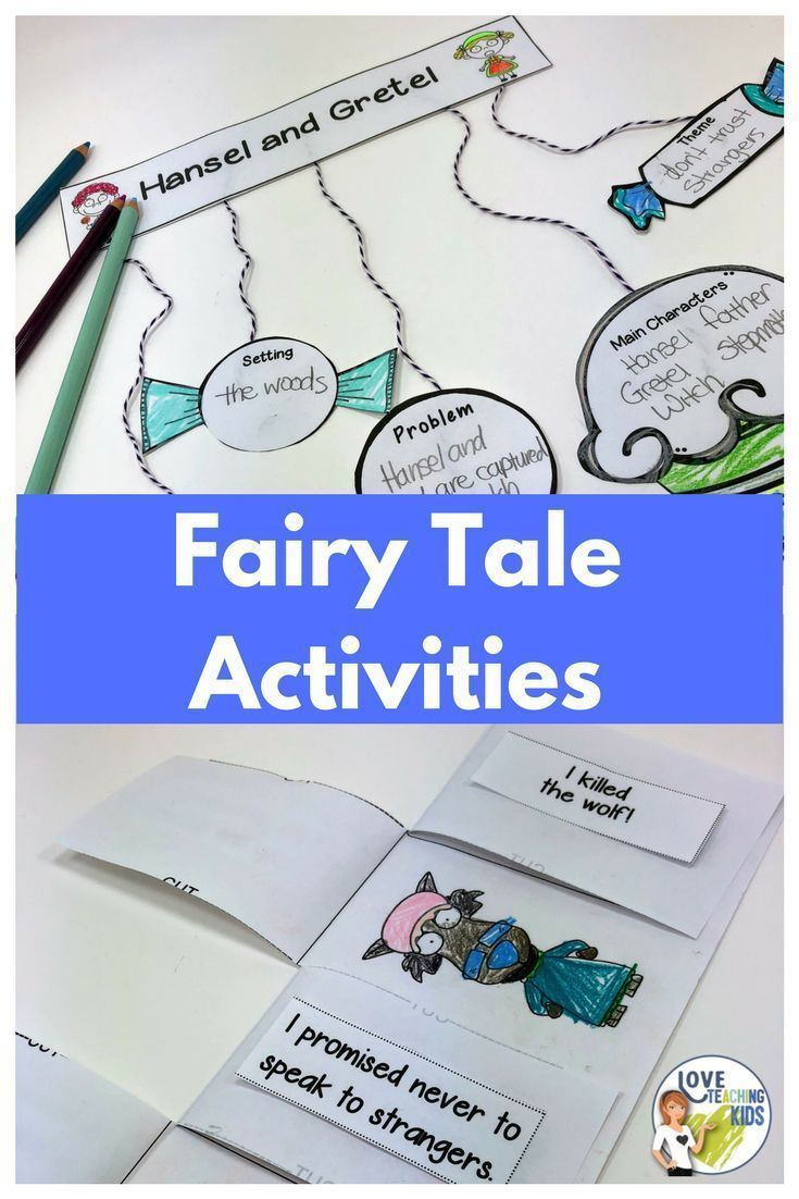 Fairy Tale Reading And Writing Activities Fairytale Lessons Writing Activities Fairy Tale Activities