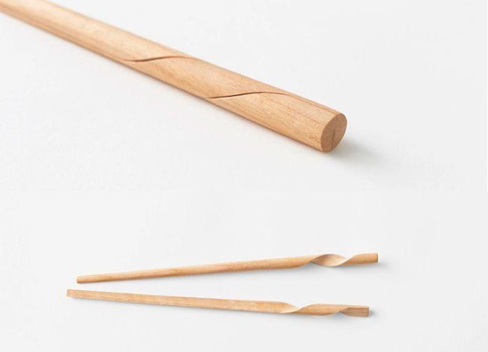 Rassen Chopsticks by Nendo I Remodelista