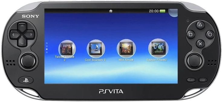 Sony PlayStation PS Vita WiFiBlack PCH-1101 Version 3.65 PS Vita Console (Used) #Sony