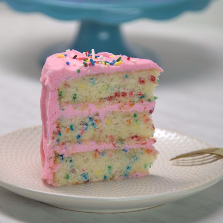 A celebration isn't complete unless there's a colorful, yummy cake involved. Save the recipe on our app! http://link.tastemade.com/HE7m/H1wHe4m2mA