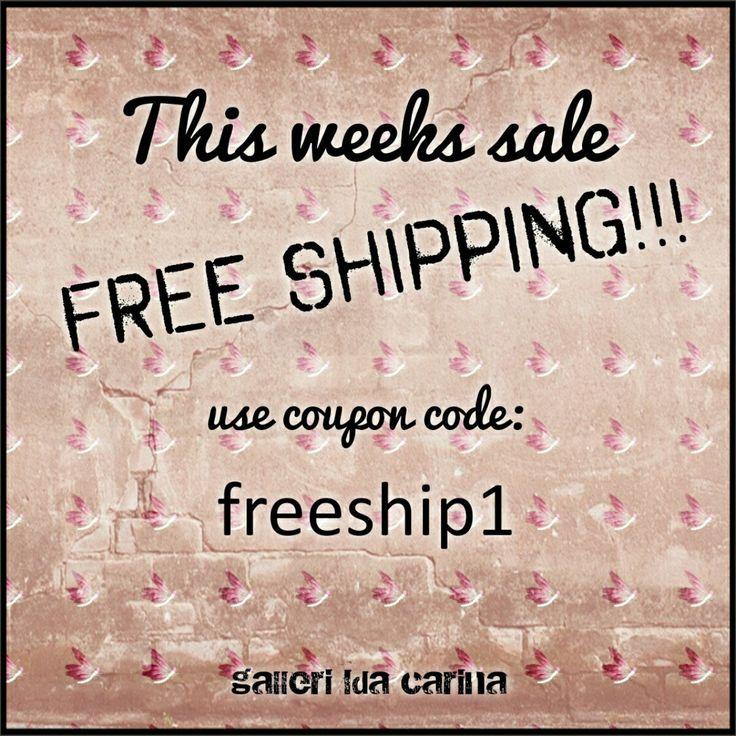 Until March 1st you get FREE SHIPPING on all purchases (from 500NOK,  6,75USD,  89,13AUD,  42,70GBP,  55,21EUR,) even if the items are already on sale!!