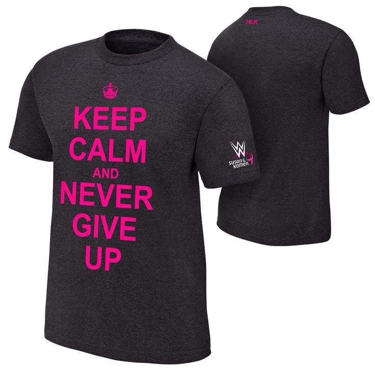 #WWE #CourageConquerCure John Cena T-Shirt
