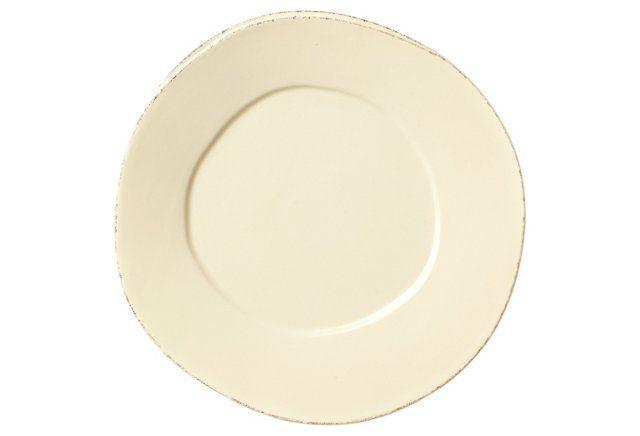 Lastra Cream Dinner Plate