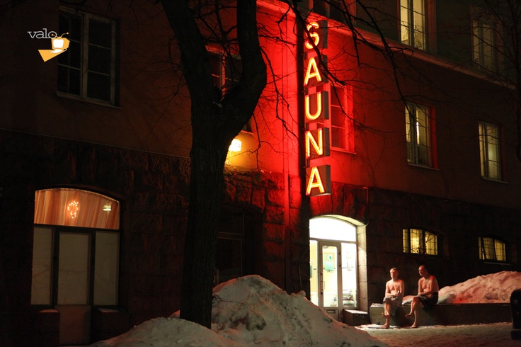 "One of Helsinki's most famous public sauna: ""kotiharjun"". Here can you sit outside in one of the streets of Kallio and chill from the heat! Photography by Rafael Rybczynski. #kotiharjunsauna #sauna #helsinki #valotv #kallio #urban #nordic #culture #helsingfors #suomi #finland"
