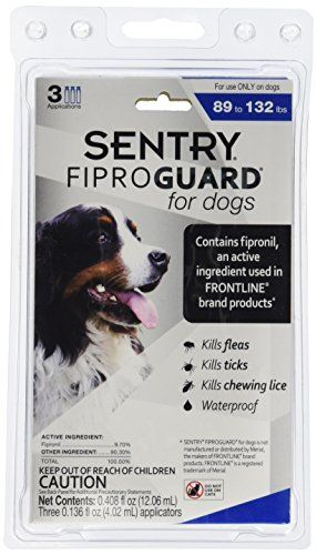 SENTRY Fiproguard delivers protection against fleas ticks and chewing lice. Fiproguard is an effective affordable way to protect your pet from fleas ticks and chewing lice for 30 days....