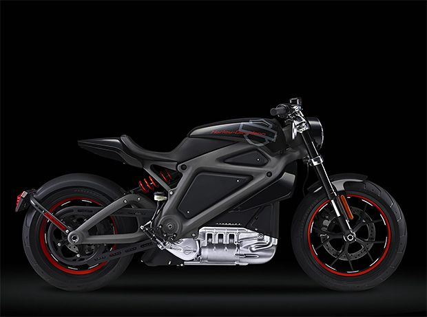 Harley-Davidson LiveWire Electric Motorcycle.  Harley-Davidson is putting the company's first electric motorcycle on the road; the LiveWire is a sport bike that looks like nothing HD has ever made before. It does 0-60 sub 4 and makes a sound like a jet turbine. A fleet of LiveWire demo bikes is currently touring the country allowing riders to test them out while HD gauges interest before putting them into production.