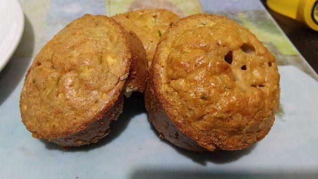 donneinpink magazine: Muffin salati porro e zucchine senza glutine con r...