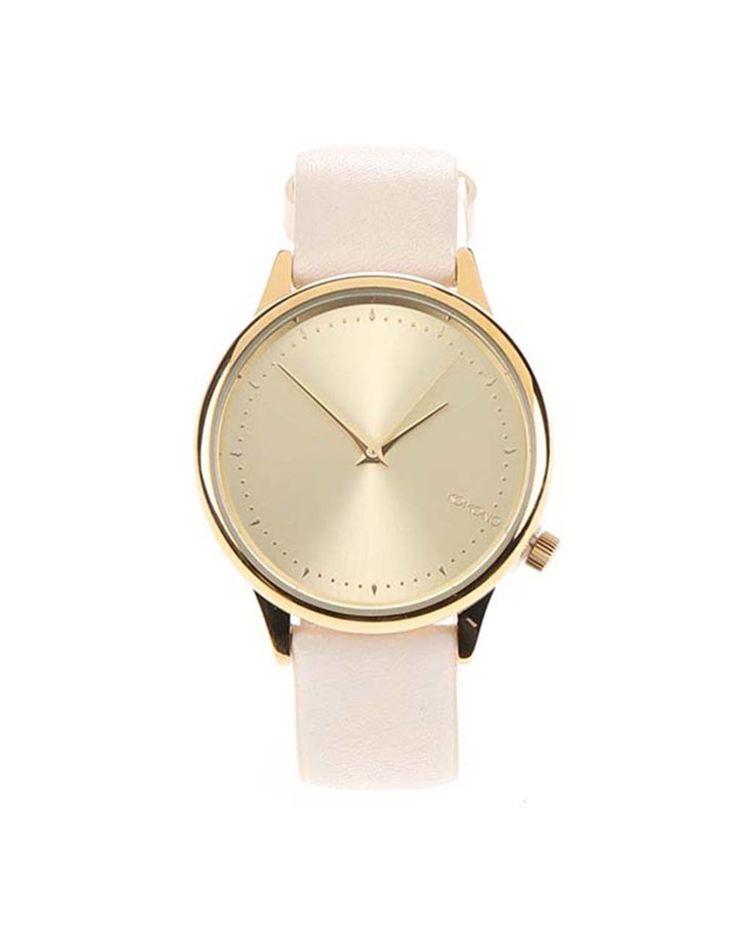 Komono - Krémové dámské hodinky  Estelle Pastel - 1