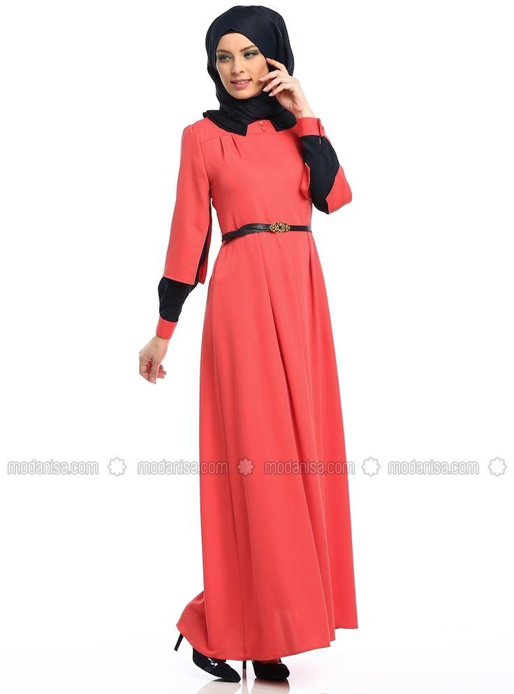 Double Collar Dress - Zernisan