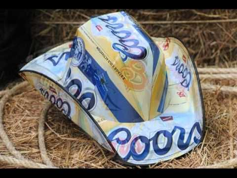 Beerhat Styles (YouTube) ~ to give you ideas on what the western hats looks like with certain beer boxes!  AWESOME!  Look at the ones with the top indentation...fabulous!  Getting some ideas here...