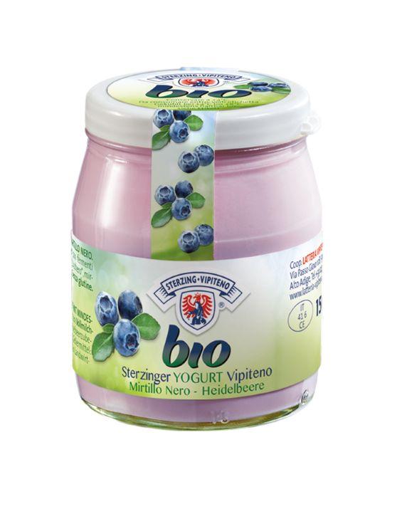 Organik yoğurt bütün - 150g - yaban mersini