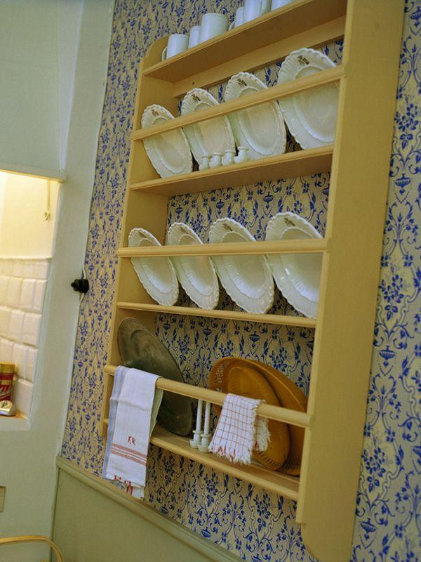 swedish plate rack