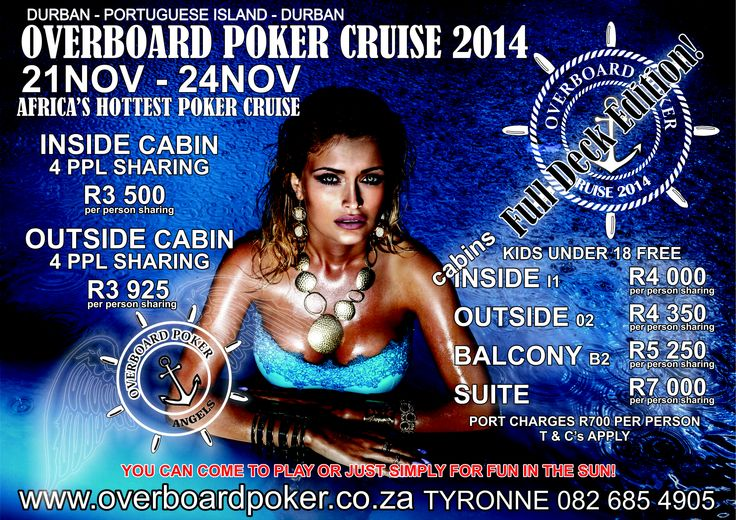 #overboardpoker #2014 get onboard ! Come and play or just for fun in the sun.. It's a must.