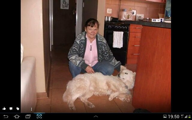 Mommy and our varuscha, so sad she passed away. Rip varuscha