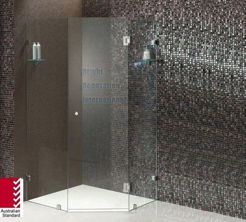 Shower Screen 10mm Toughen Glass Panels Hs Code 70071900