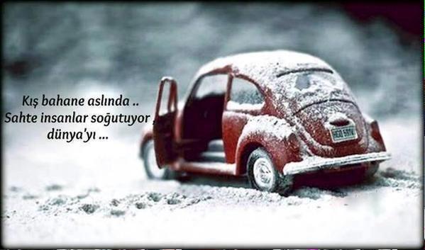 Kış bahane aslında... Sahte insanlar soğutuyor dünya'yı...