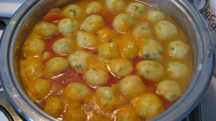 Krumpligombóc-leves