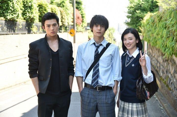 (左から)新田真剣佑、窪田正孝、永野芽郁 (画像提供:関西テレビ)