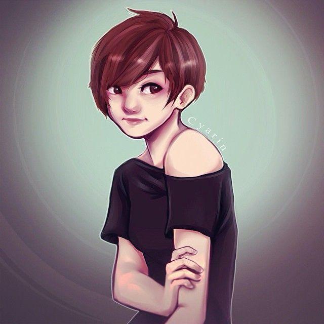Cartoon Characters With Short Hair : Best short hair drawing ideas on pinterest cartoon