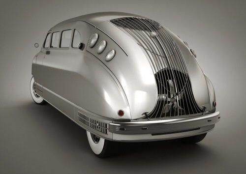 1935 Stout Scarab--imagine driving this around today
