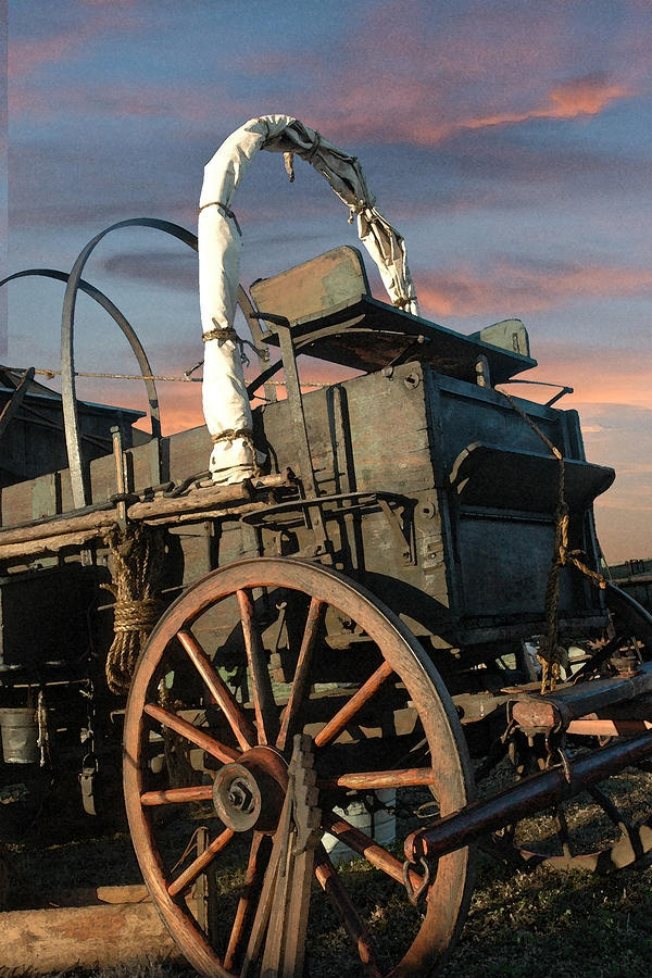 Tough Old Wagon Photograph  - Tough Old Wagon Fine Art Print