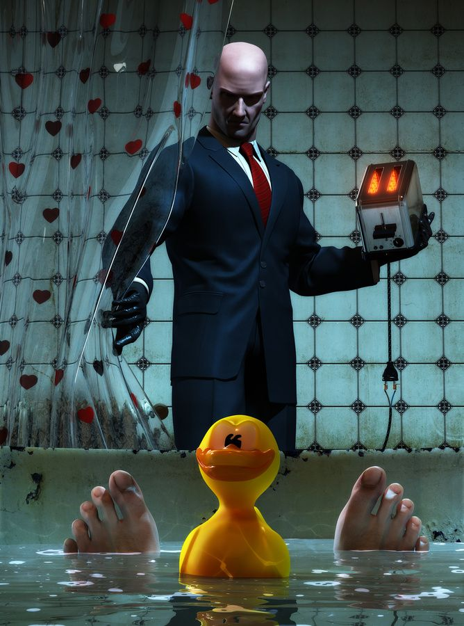 Hitman: Blood Money  Agent 47 uses any means necessary to make sure the contracts are completed.