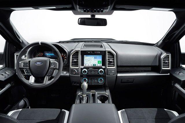 2017 Ford Ranger Raptor - Interior -View