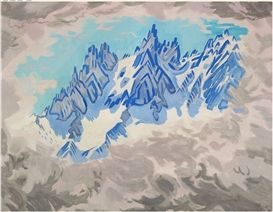 Jens Ferdinand Willumsen, Mountains, Chamonix
