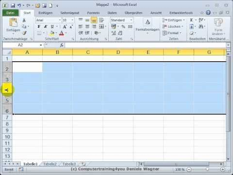 Excel getting started 13 tips on lines – khan tayyab