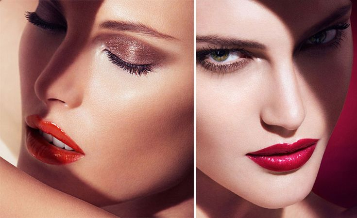 Who isn't inspired by the #sultry red lip and the #smouldering seductive eyes of a woman on the hunt?  #armani has it goin' on!