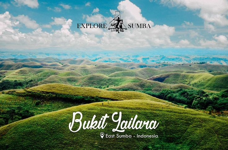 Not only known as the land of a thousand villages, Sumba is also the land of a thousand hills. The island has many of beautiful hills and one of them is Lailara Hills in the East Sumba.