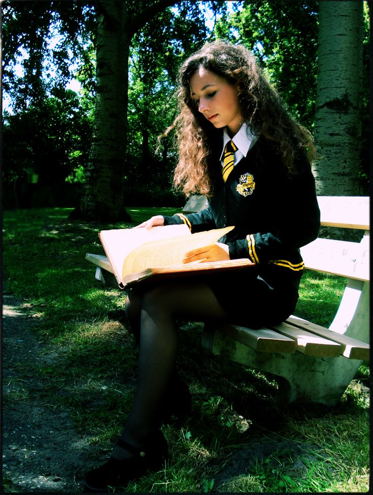 """I sit there with my book in my lap practicing spells but keep messing up I throw the book on the ground and pull my knees up and cry I can hear some Slytherin's and Gryffindor's laugh saying your useless if you get sorted in hufflepuff """"are you ok"""" someone asks I look up to see a Ravenclaw boy and a Slytherin girl holding my book and wand (Rp needs the Ravenclaw boy and Slytherin girl)"""