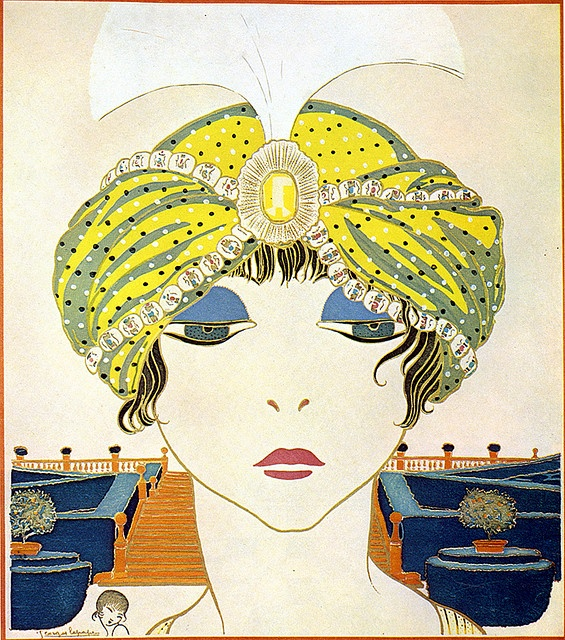 One of my most favorite fashion Illustrations.  Lepape for Paul Poiret, 1911