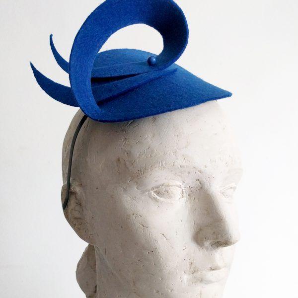 ALMA Fascinator hat made by Eventivity Accessorize