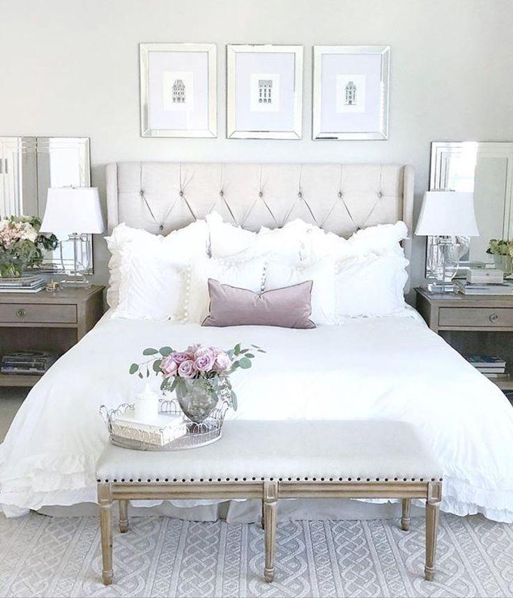 30 Small Yet Amazingly Cozy Master Bedroom Retreats: 4 Adorable Cool Tips: Girls Bedroom Remodel Gray Farmhouse