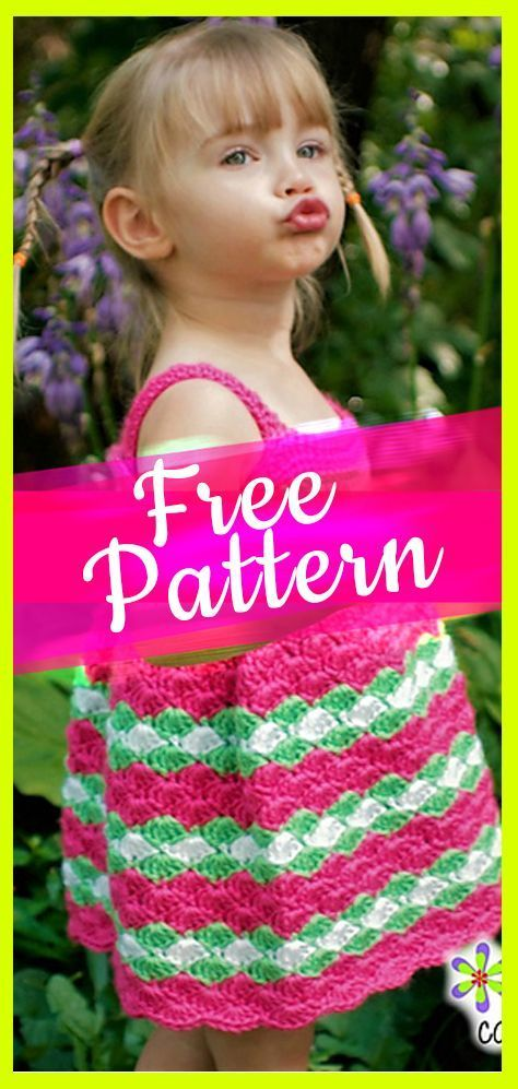 10 Crochet Baby Dress Patterns Pinterest Crochet Baby Dress