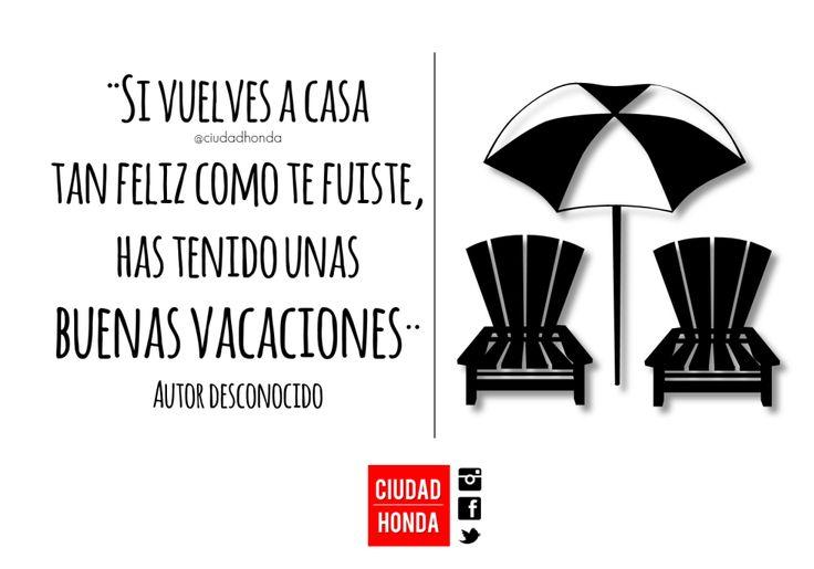 #vacaciones #diadesol #felicidad #viajar #turismo #hondatolima #frasesdeviaje