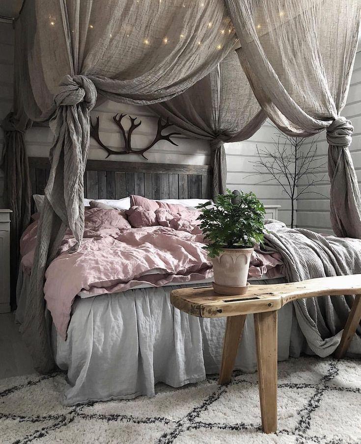 19 gemütliche Schlafzimmerdekoration Ideen