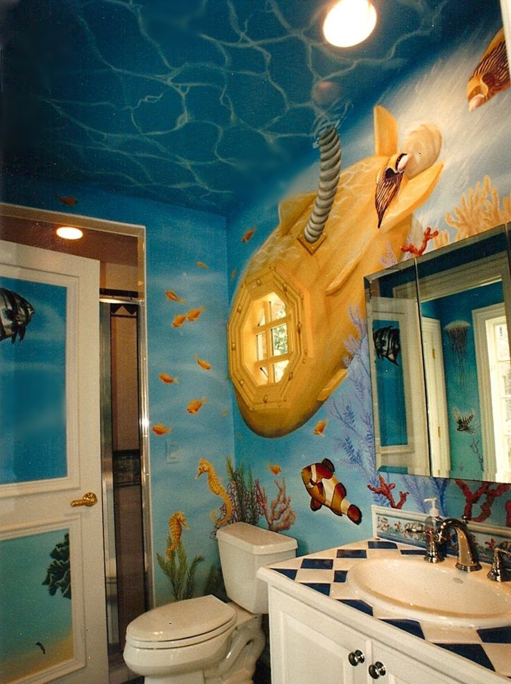 Painted Kids Rooms  Andrew Tedesco Studios Inc