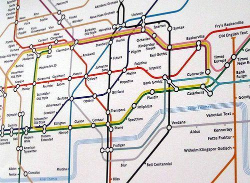 London Tube Map Designed By Eiichi Kono Combines Fonts And Maps Simon