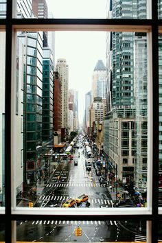 City of dreams, New York City. Splendid architecture don't you agree?