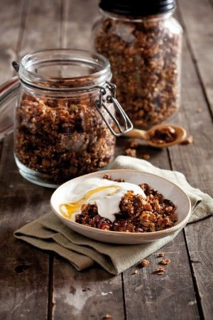 Homemade wheat-free granola